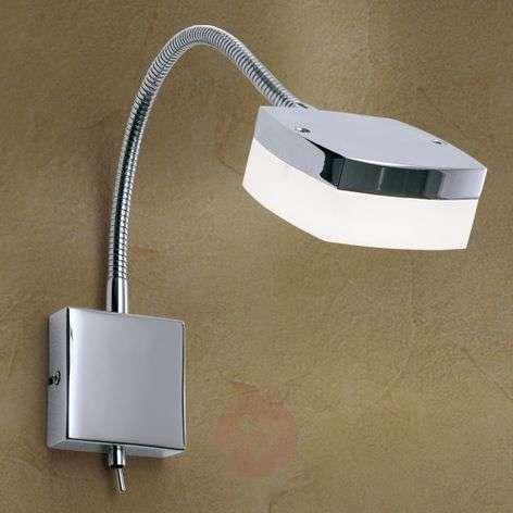 LED wall light Narek with gooseneck