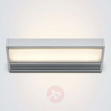 LED wall light SML in silver