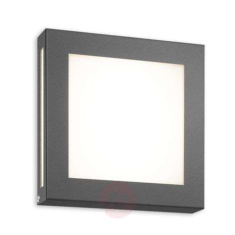 Legendo Mini LED outdoor wall light, anthracite