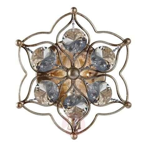 Leila decorative crystal wall light