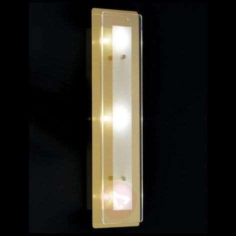 Lene - LED wall lamp 36 cm brass