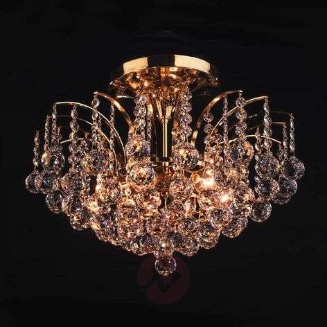 Lennarda Ceiling Light Gold-Plated 24 Carat