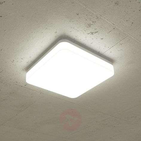Lenne LED ceiling lamp 4,000 K angular 26 x 26 cm