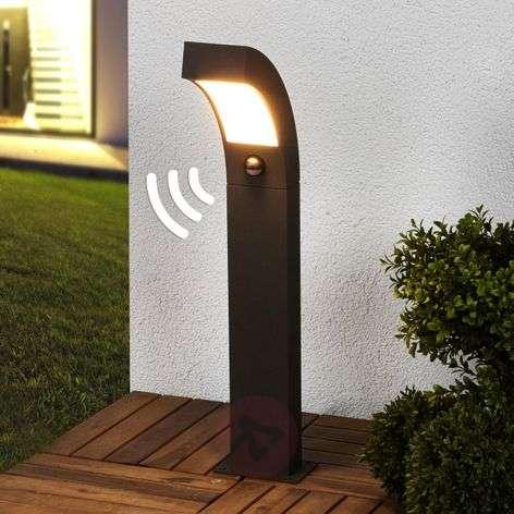 Lennik Motion Detector LED Pillar Lamp