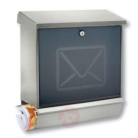 Letter box Lucca w/ decorative letter image