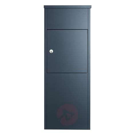 Letter/parcel box 600 with Ruko lock, anthracite