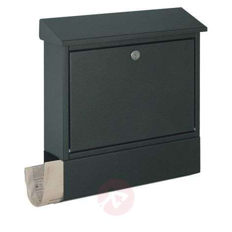Letterbox London with newspaper compartment-4502360-31