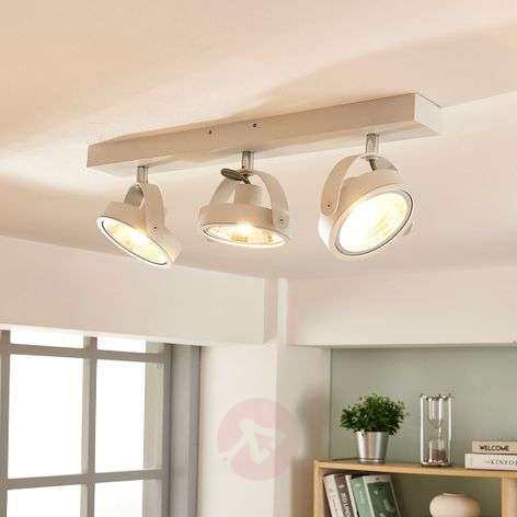 Lieven modern LED ceiling lamp in white