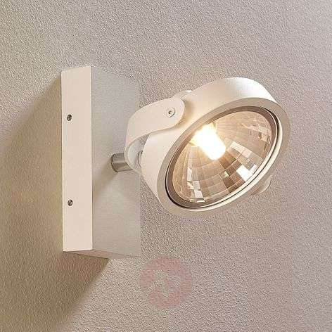 Lieven white LED spotlight for wall and ceiling