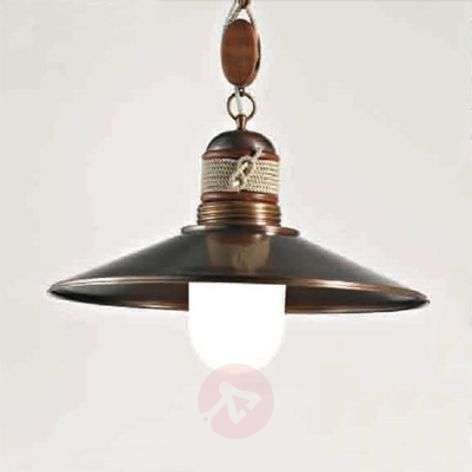 Lima one-bulb hanging light