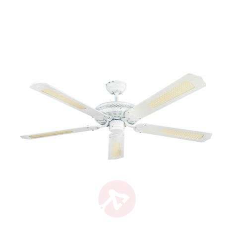 Lindby Ruhne ceiling fan, white