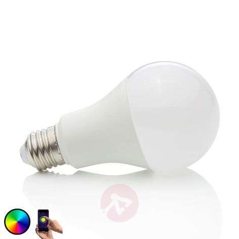 Lindby Smart LED bulb WiFi E27 10 W, 2,700 K, RGB-9971013-39