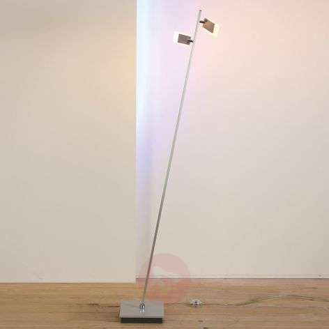 Line - two-bulb LED floor lamp