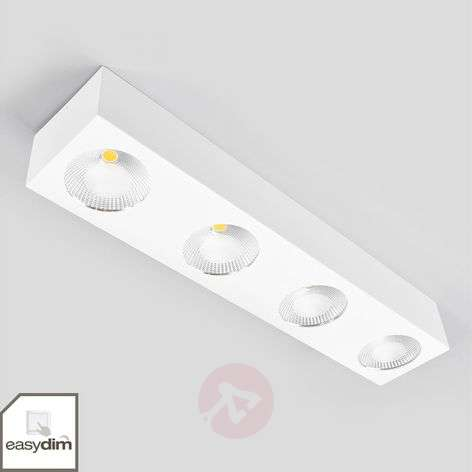 Linear Easydim LED ceiling lamp Sonja, four-bulb