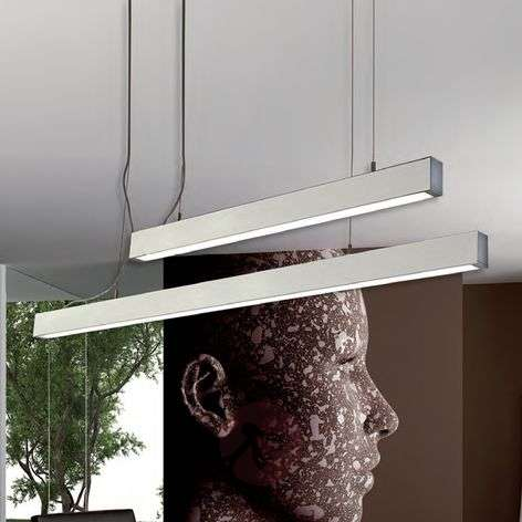 Linear hanging light SIN, 89.8 cm long