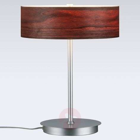 Liska chic table lamp with wooden lampshade-7601064-31