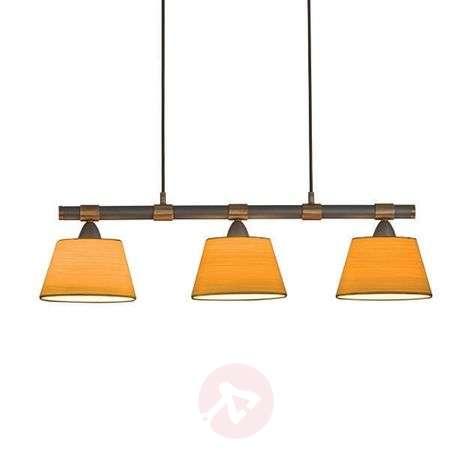 LIVING TABLE three-bulb hanging light