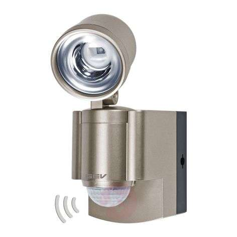 LLL 140 battery-powered LED spotlight with MD