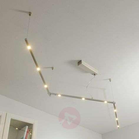 Long Elta LED ceiling light, dimmable, 240 cm
