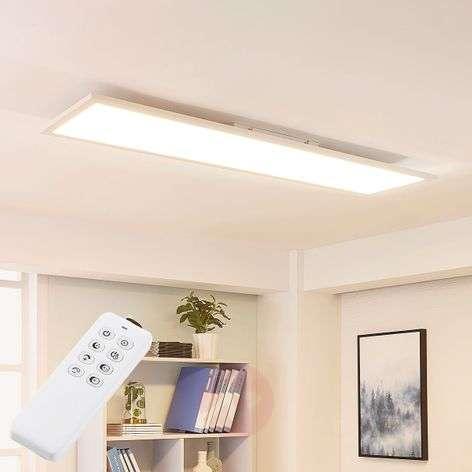 Long LED panel Lysander, variable luminous colour