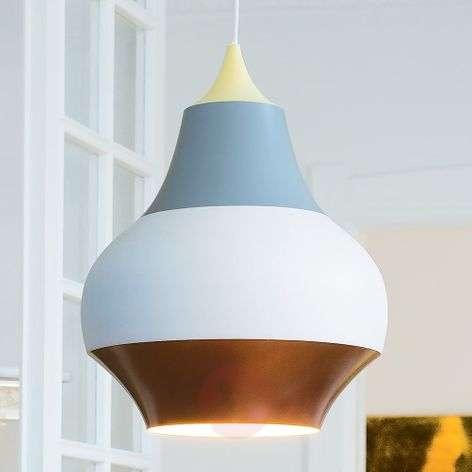 Louis Poulsen Cirque hanging lamp, yellow