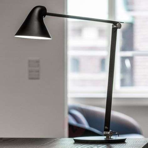 Louis Poulsen NJP LED table lamp with base