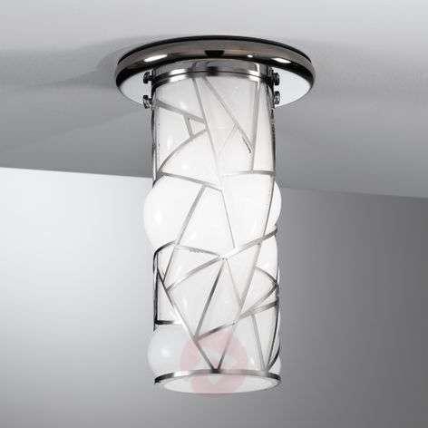 Lovely Orione ceiling light, stainless steel