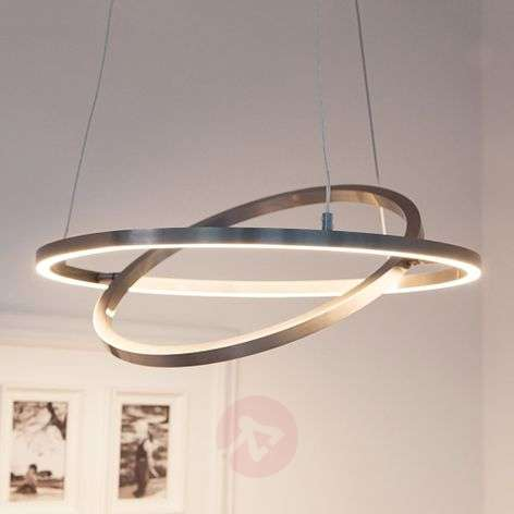 Lovisa LED hanging light with two LED rings
