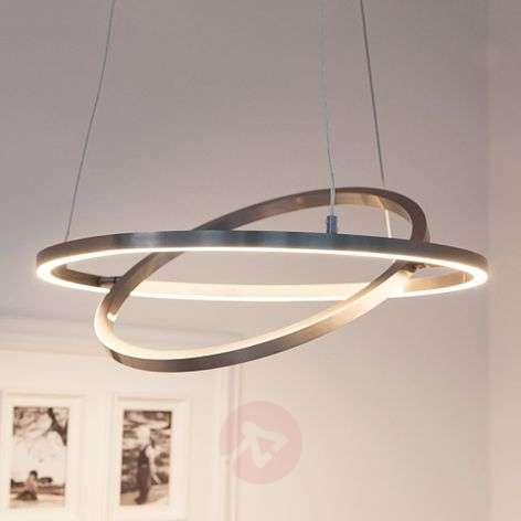 Lovisa LED hanging light with two LED rings-7620002-32