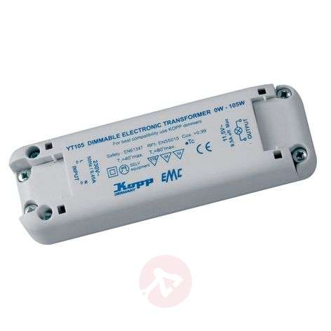 Low-voltage electronic transformer 105 W