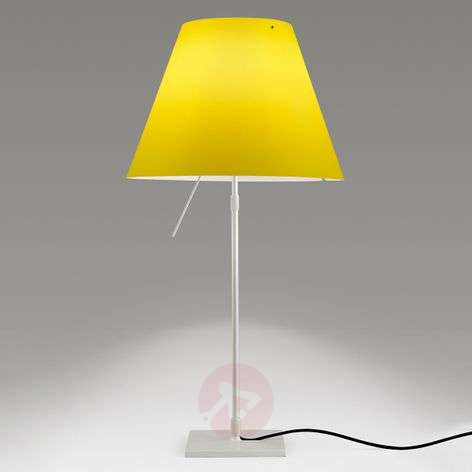 Luceplan Costanza - LED table lamp, yellow