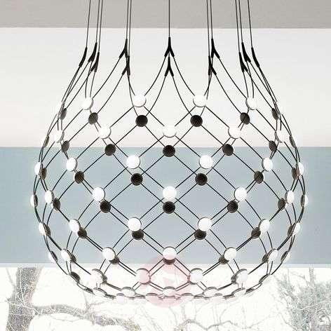 Luceplan Mesh pendant lamp Ø 100 cm wireless