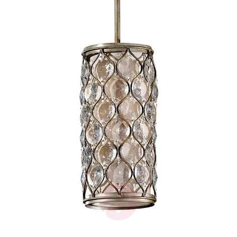 Lucia - small pendant light with crystals