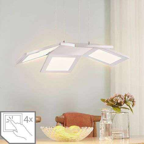 Luciano four-bulb LED hanging lamp