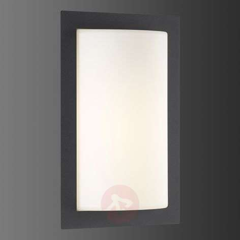 Luis LED outdoor wall light with motion detector