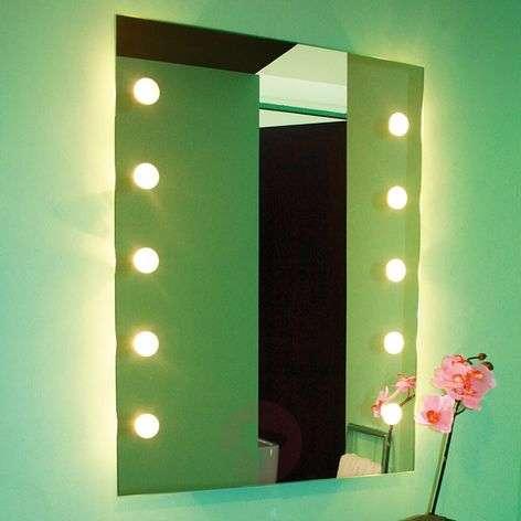 Luminous wall mirror DOTLIGHT
