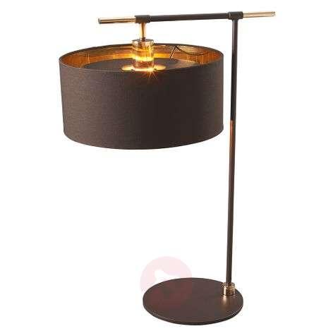Luxurious fabric table lamp Balance