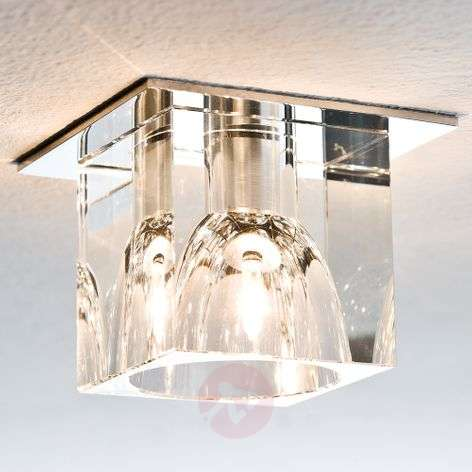 LV recessed light GLASSY CUBE 10 W 3 set, dimmer