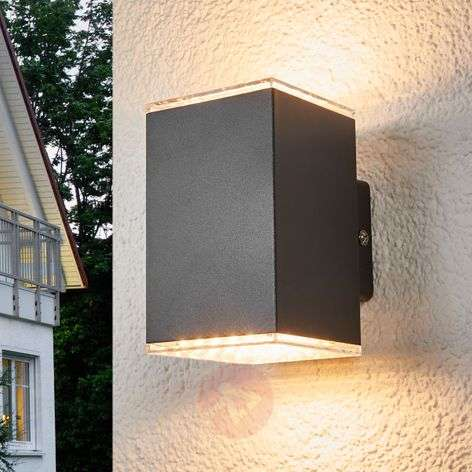 Lydia - LED outdoor wall light, 2-bulb