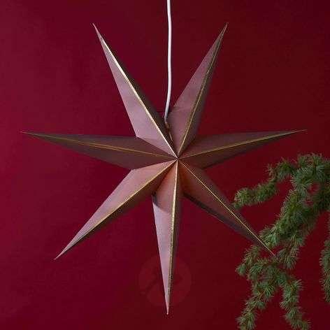 Lysa star, paper, 60 cm diameter