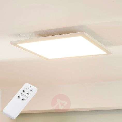 Lysander dimmable LED ceiling lamp, remote control