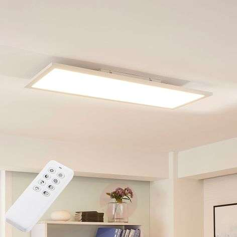 Lysander long LED panel, warm white daylight