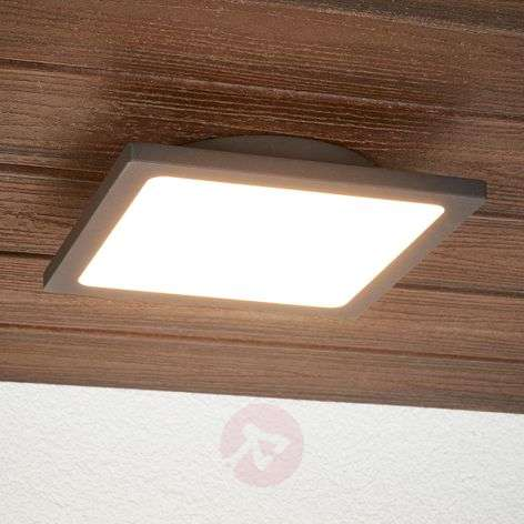 Mabella LED outdoor ceiling lamp with sensor