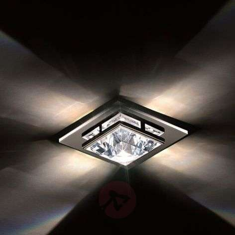Madison recessed ceiling light w Swarovski crystal