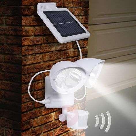 Maex sensor solar light for walls, two-bulb