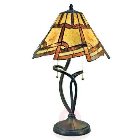 Magical table lamp Parisa, Tiffany style-1032320-31