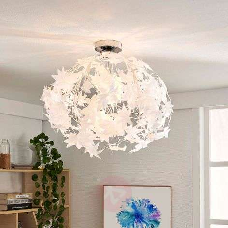 Maple ceiling light with pretty leaf decoration-9621122-311