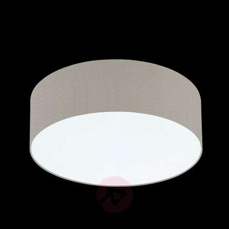 Mara Ceiling Light with Chintz Shade Brown Mix