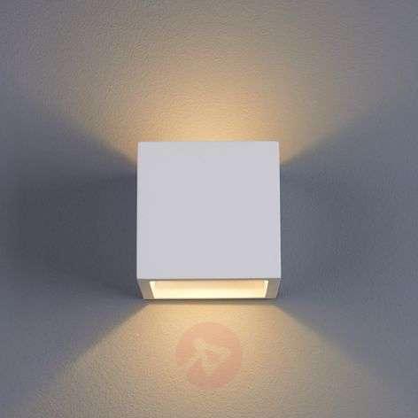 Marita LED Wall Light Cube-Shaped Plaster-9613038-31