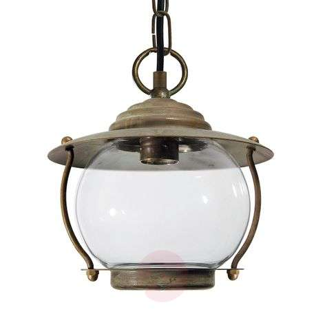 Antique brass ceiling light olivia lights maritime pendant light olivia seawater resistant aloadofball Image collections